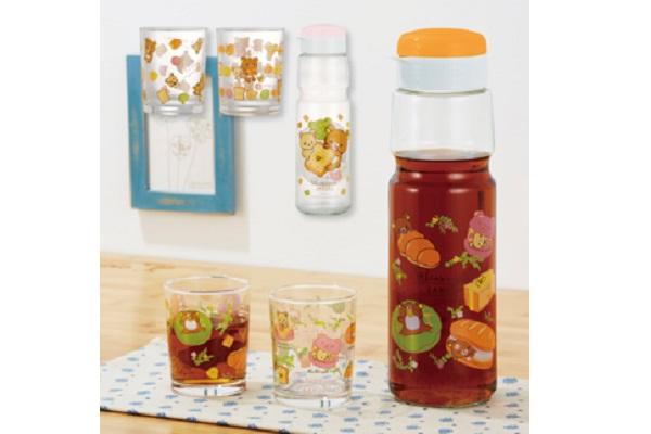 リラックマベーカリー 麦茶ポット&グラスセット
